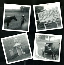 Vintage Photos Guided Tour Of Amish Farm Dutch Country Horse & Buggy 1970