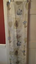 Croscill Home Shower Curtain Botanical Soft Colors Cotton Polyester 68x74 New