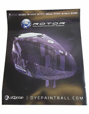 "Dye Paintball 2013 Rotor Poster 17"" x 20"" Inch"