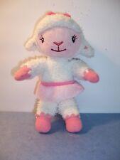 "DISNEY - Doc McStuffins 8""  LAMBIE LAMB Soft Plush Doll -  SKIRT/ BOW - VGC"
