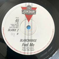 "Blancmange –  Feel Me   1982   UK  Vinyl  12"" Single  BLANX 2    MINT  UNPLAYED"