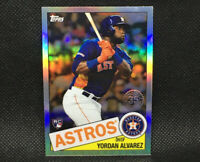 2020 Topps Chrome Yordan Alvarez RC Houston Astros Rookie #4 85TC-4 1985 Insert