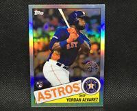 2020 Topps Chrome Yordan Alvarez RC Houston Astros Rookie #4 85TC-4 1985 Insert