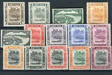 Brunei 1947-51 set of 14 SG79/92 MNH