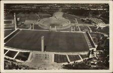 1936 Olympics Berlin Germany Used Real Photo Postcard - Stadium