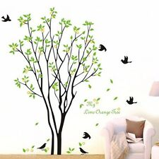 Tree Bird Quote Removable Vinyl Wall Decal Mural Home Art DIY Decor Stickers AA