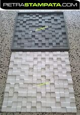 Stampo rivestimento murale finta pietra wall panel 3d in gesso VENEER STONE MOLD