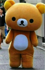 New Japanese San-X Rilakkuma Brown Bear Mascot Costume Cosplay Party Character