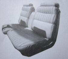 1973-1974 CADILLAC ELDORADO CONVERTIBLE STANDARD REAR BENCH SEAT COVER  3 COLORS