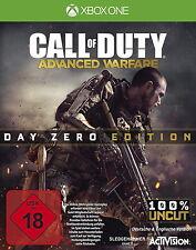 *** Call of Duty: Advanced Warfare *** Day Zero Edition *** Xbox One *** nuevo ***