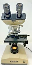 Olympus CH Microscope w/ Eyepieces and 4X 10X 40X 100X Objectives