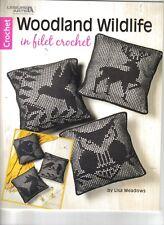Woodland Life in Filet Crochet   ~ Crochet Book ~ Leisure Arts ~ NEW
