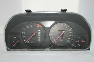 Speedometer Instrument Cluster Dash Panel Gauges 97 - 01 Prelude 185,106 Miles