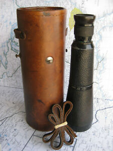 Rare Hensoldt Marine-Dialyt 7x50 roof prism monocular, very early (SN 87601)