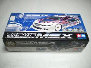NIB TAMIYA MARC RHEINARD Edition TRF 415 MSX RC Racing Car kit