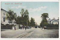 Newport Road Cardiff Vintage Postcard Glamorgan South Wales 750b