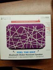 IHome Blue Tooth Water Resistant Speaker