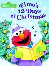 Elmo's 12 Days of Christmas (Sesame Street) (Board Book)
