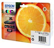 Epson C13T33574010 33xl Tintenmultipack - Schwarz/Gelb/Cyan/Magenta