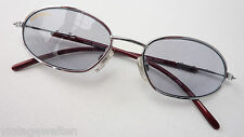 Alpina gebogene Sonnenbrille Sport Metall silber Shoppingbrille TOP size L