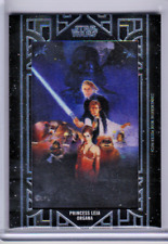 2018 TOPPS STAR WARS GALACTIC FILES RETURN OF THE JEDI PRINCESS LEIA POSTER