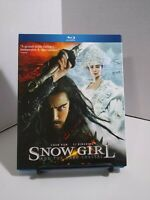 Snow Girl  Blu Ray + Slip Cover- NEW!