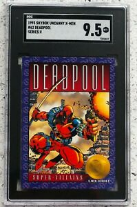 1993 Skybox X-Men 2 Deadpool #62 Graded SGC 9.5 💎🔥📈 MINT PLUS!