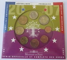 RARE COFFRET OFFICIEL FRANCE 2007 BU scelle D'ORIGINE MONNAIE DE PARIS CPS