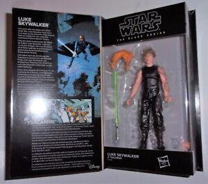 "Star Wars 6"" Black Series LUKE SKYWALKER & YSALAMIRI 50th Lucasfilm IN STOCK MOC"