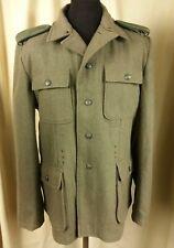 German Army WW2 Waffen SS M43 Wool Green Satin-Lined Uniform C42 W36 L33