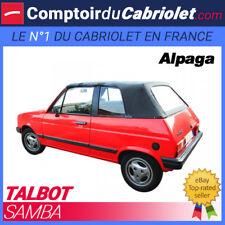 Capote Talbot Samba  cabriolet - Toile Alpaga Stayfast®