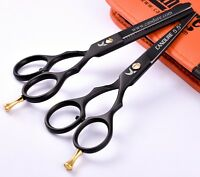 Set of Barber Thinning Pro Hair Cutting Scissors Shears Salon Hairdressing 5.5""