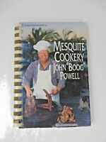 Mesquite Cookery John Book Powell Auto Signed BBQ Baltimore Orioles Cook Book