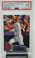 2018 Topps National Baseball Card Day Angels SHOHEI OHTANI Card PSA 9 MINT