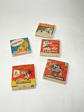 16mm Film Animation Stop Action Cartoon Lot of 5 Castle Films Stampede Scrappy +