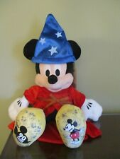 """Build A Bear Disney Mickey Mouse 90th Anniversary Plush Doll 17"""" NWT w/ Outfit"""