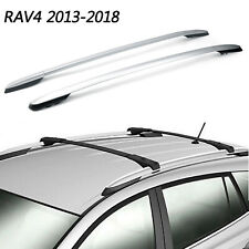 For 2013-2018 Toyota RAV4 Silver Roof Rack Cross Bar Luggage Carrier Bar OE AT5