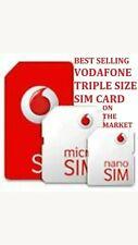 0 786 757 876 3 Gold Vodafone Mobile Phone Number SIM Card VIP Business Platinum