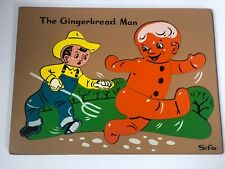 Vintage Sifo The Gingerbread Man Puzzle RARE