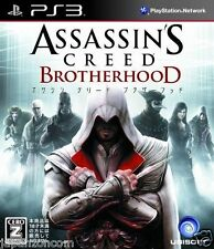 Used PS3 Assassin's Creed: Brotherhood SONY PLAYSTATION 3 JAPAN JAPANESE IMPORT