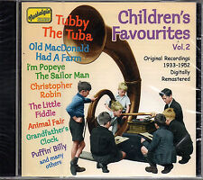 Various 'CHILDREN'S FAVOURITES VOL.2' CD New/Sealed - EU Naxos Nostalgia