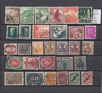 LOT STAMPS GERMANY REICH USED (L35245)