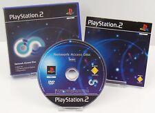 Ps2 PlayStation 2-Network Access Disc + instrucciones + embalaje original