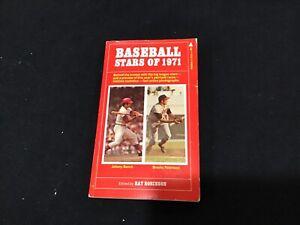 Baseball Stars of 1971 SC Book by Ray Robinson Johnny Bench, Brooks Robinson