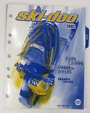 2002 Ski-Doo Skandic 500 600 Factory Parts Catalog Book Manual OEM Bombardier