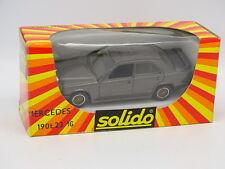 Solido 1/43 - Mercedes 190 E 2.3 16 Grey