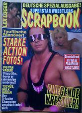 Superstar Wrestlers Scrapbook Zeitung WWF WCW WWE