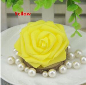 Beautif 7-8CM Artificial PE Foam Roses Flowers Heads DIY Home Wedding Decora