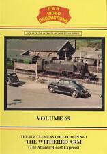 B&R No 69 Dvd: The Withered Arm:SR Atlantic Coast Express Bodmin Bude Barnstaple
