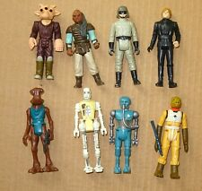 8 Figuras De Star Wars Original KENNER (1970/80's)